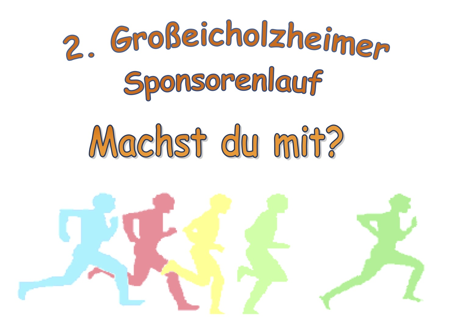 Sponsorenlauf am 21. September